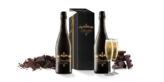 Čokoládové šumivé víno z francúzskych viníc