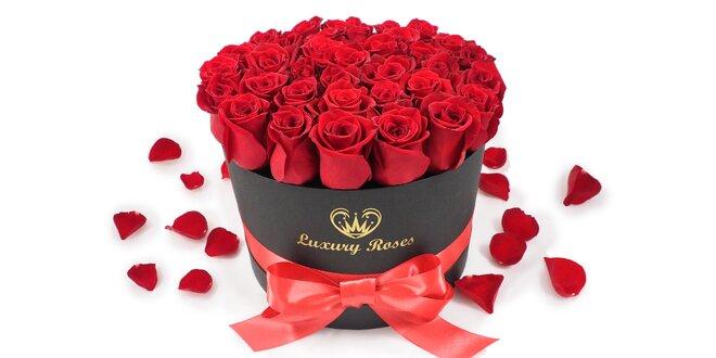 Valentínsky box ruží pre vašich milovaných