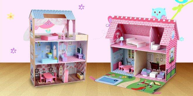 Milé rozkladacie domčeky pre bábiky