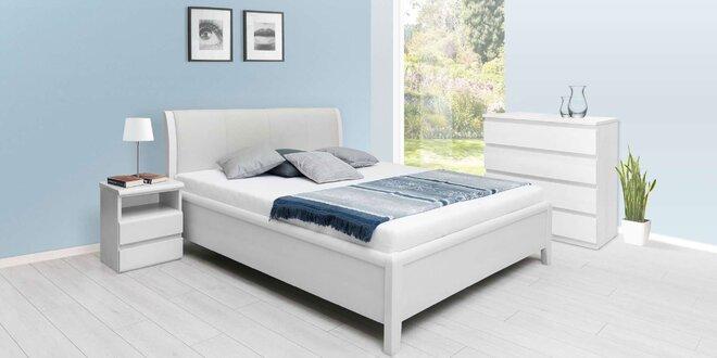 Krásne postele z dreveného masívu, kovu alebo koženky
