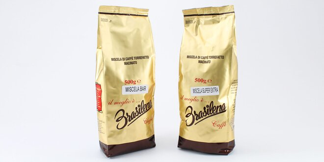 Pražená zrnková káva Brasilena Cafe