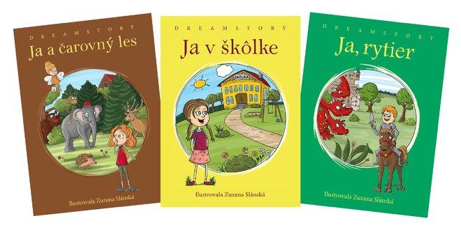 Personalizované rozprávkové knihy pre deti