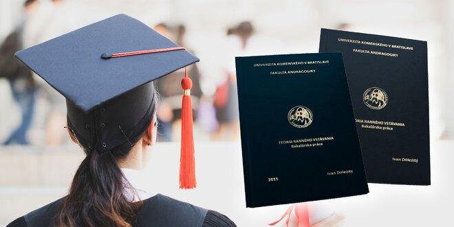 Viazanie bakalárskej alebo diplomovej práce