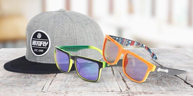 Šiltovky a slnečné okuliare značky Meatfly