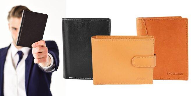 Štýlové pánske peňaženky z pravej kože - 17 typov