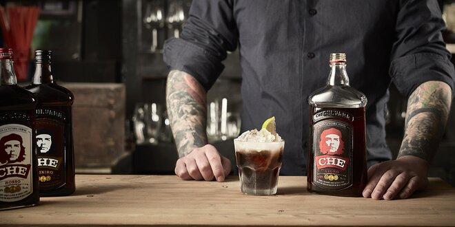 Rumový alkohol s pravým karamelom