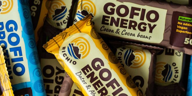 Energetické tyčinky Richio GOFIO