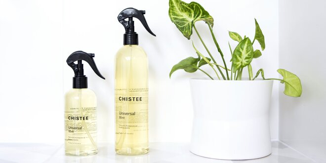 100% prírodný univerzálny čistič od Chistee