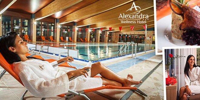 Exkluzívny wellness, alebo rodinná dovolenka v hoteli Alexandra***, až 2 deti do 15 rokov zadarmo