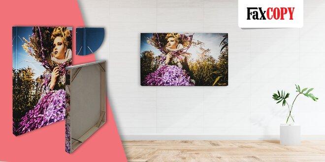 Prémiový fotoobraz na plátne so skrytým rámom