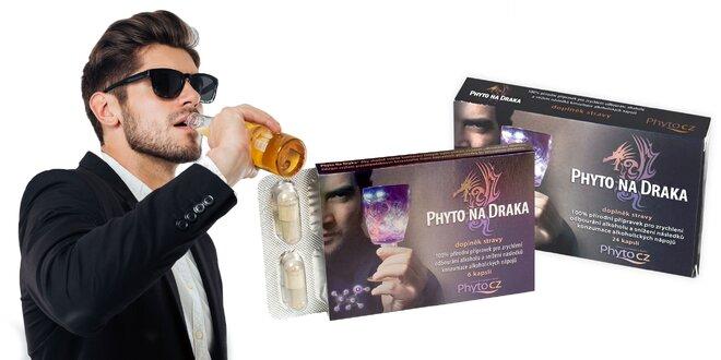Prírodný odbúravač alkoholu PhytoNaDraka