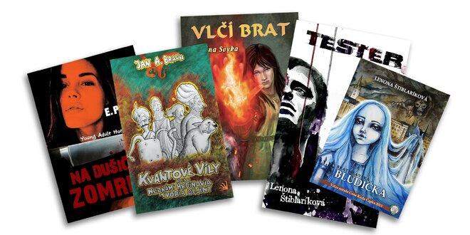 Fantasy knihy od slovenských autorov