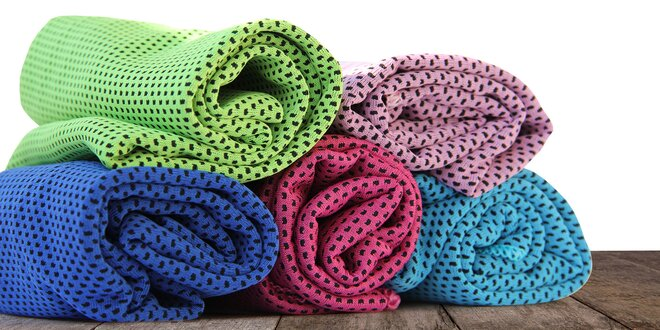 Praktický chladiaci uterák v rôznych farbách