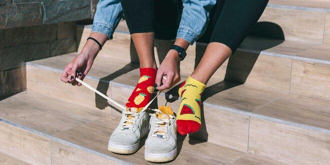 Slovenská originalita! Veselé členkové ponožky Hesty Socks