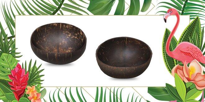 100% prírodné misky z kokosového orecha