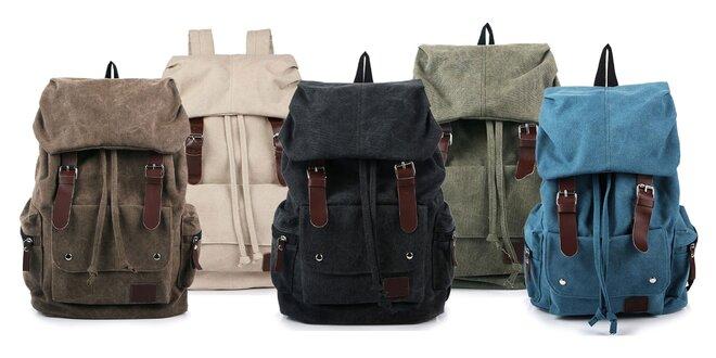 Praktický batoh na výlety v rôznych farbách