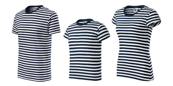 Námornícke tričká pre celú rodinu