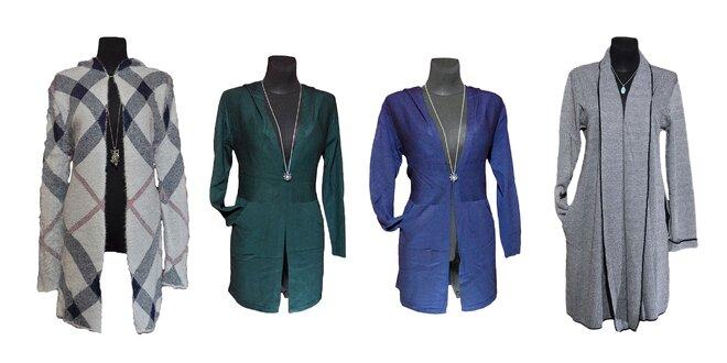 Štýlové dámske kardigany (3 modely)