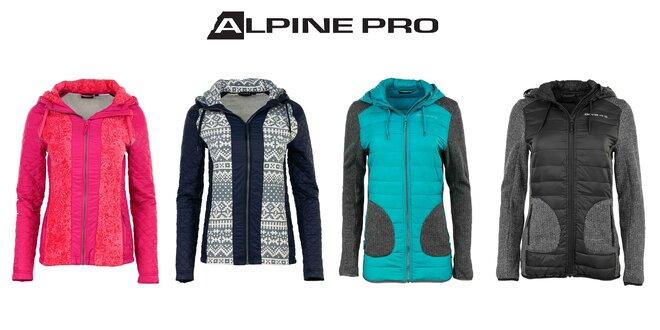 Vysmejte sa zime: dámske zimné mikiny Alpine Pro