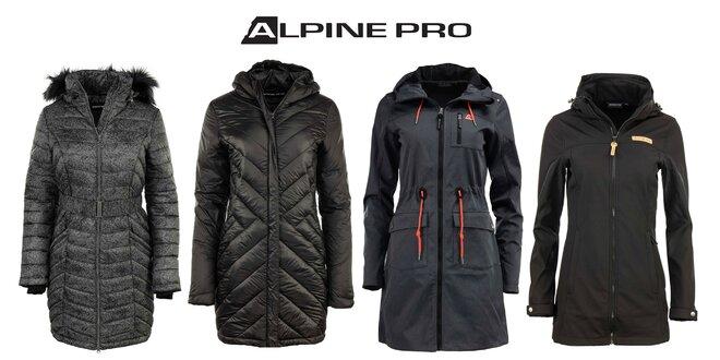 Dámsky zimný alebo softshellový kabát Alpine Pro