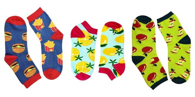 Dámske a detské ponožky s veselými motívmi