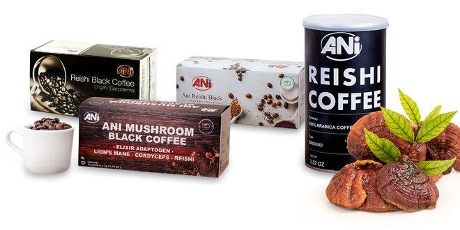 Lahodná káva či čokoláda s hubou Reishi