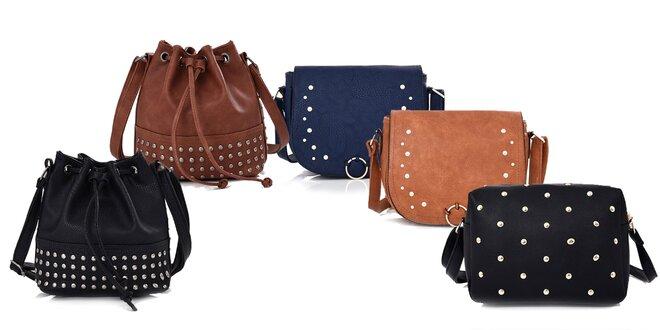 Dámske crossbody kabelky v niekoľkých farbách