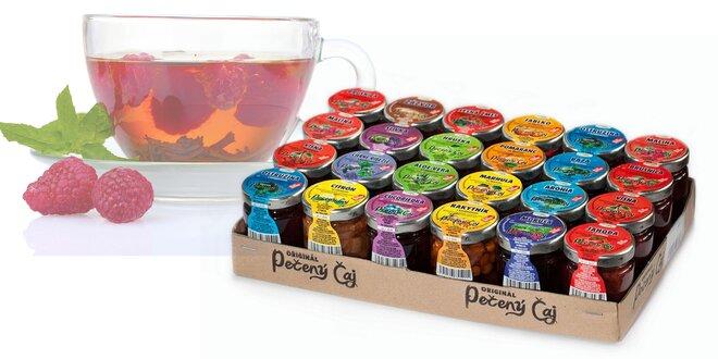 Balenia chutných pečených čajov na zahriatie