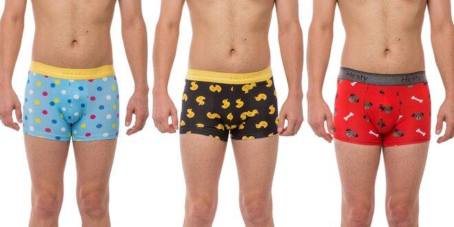 Pánske boxerky s veselými vzormi – 10 druhov