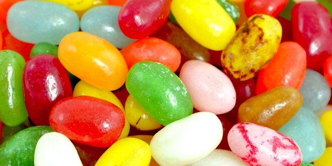 1 kg šťavnatých žuvacích cukríkov Jelly Beans