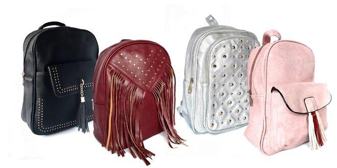 Dámske mestské ruksaky v niekoľkých prevedeniach