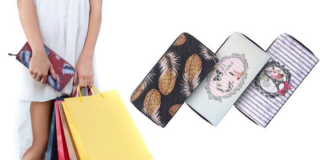 Dámske štýlové peňaženky Intrigue