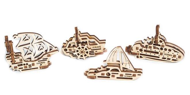 Antistresové drevené kľúčenky - poskladajte si tú svoju!
