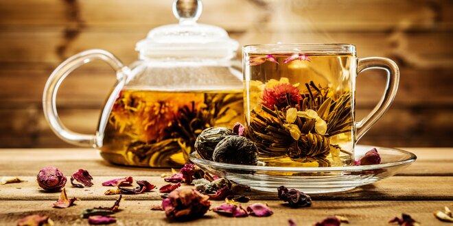 Darčeková kolekcia špeciálnych kvitnúcich čajov