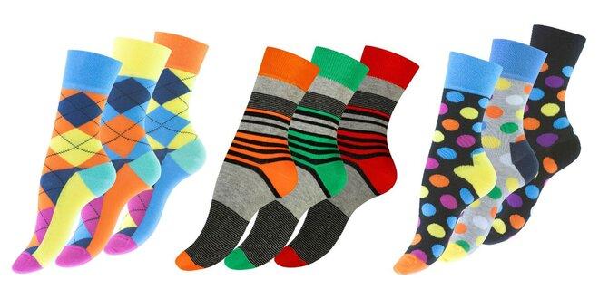 Dámske ponožky Vincent Creation: 3 páry