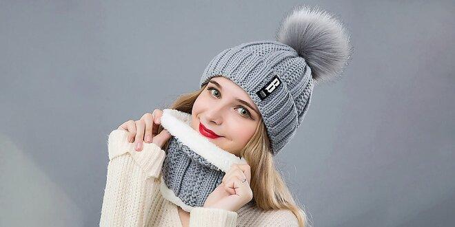 Hrejivé sety: zimné čiapky s nákrčníkom