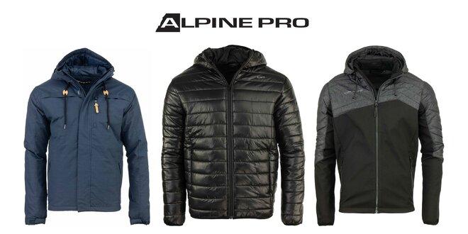 Pánske zimné bundy Alpine Pro