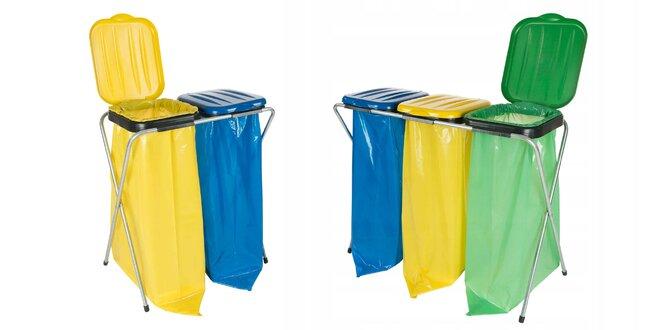 Stojany na odpadkové vrecia s objemom 120 l