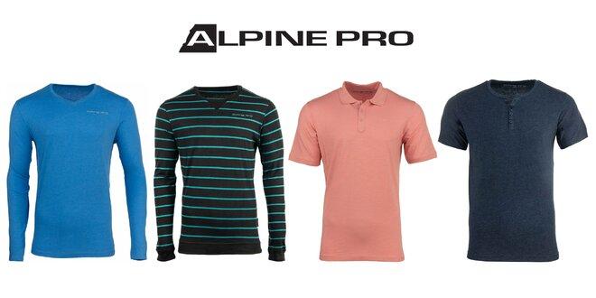 Univerzálne pánske tričká Alpine Pro