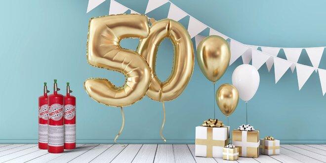 Tá najlepšia párty vďaka héliu a balónom!