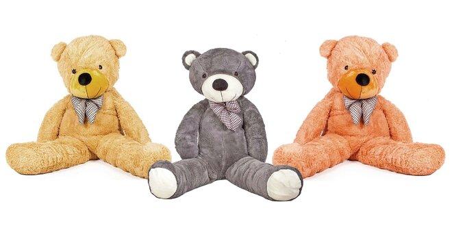 130 cm veľký plyšový medveď Doris: 5 farieb