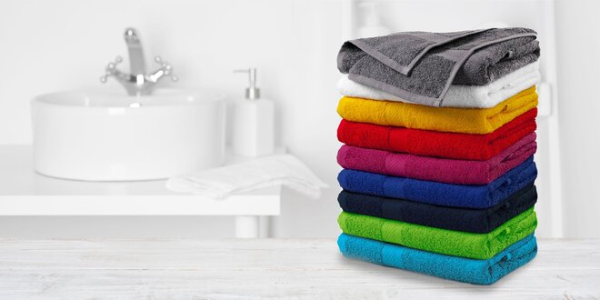 Kvalitné bavlnené uteráky a bambusové osušky