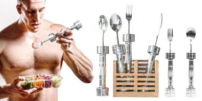 Posilňujte pri jedle s fitness príborom Fitloon