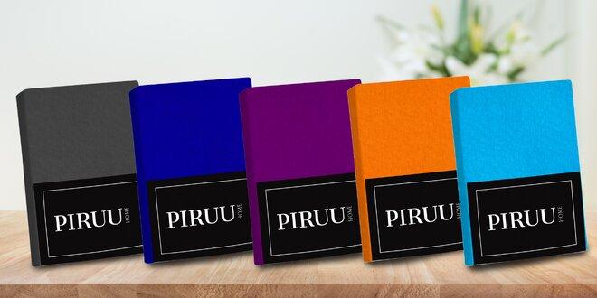 Bavlnené prestieradlá rôznych farieb a veľkostí