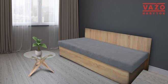 Praktické váľandy so zdravotným matracom
