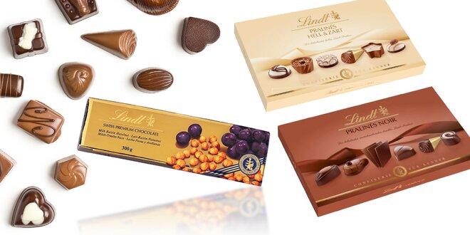 Luxusné čokolády a bonboniéry Lindt