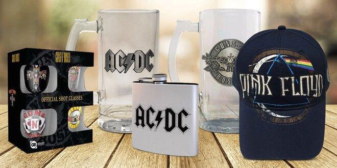 Licenčné darčeky AC / DC, Pink Floyd a Rolling Stones