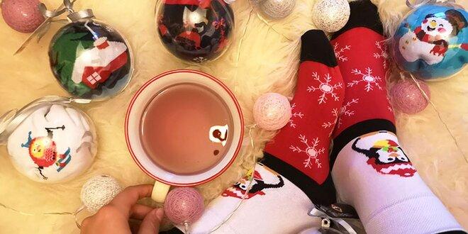 Vianočné ponožky Karpathia vo veselom balení