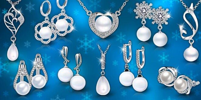 Elegantné perlové šperky: náušnice, náhrdelníky a sety