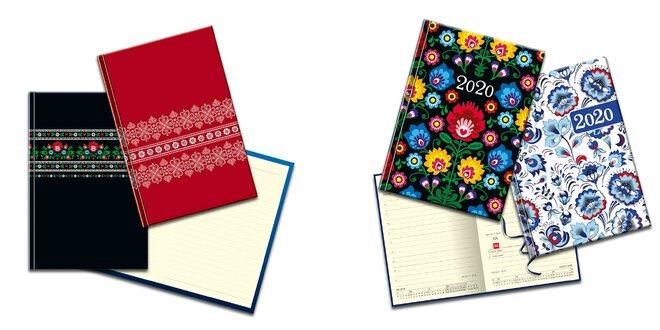 Praktické zápisníky a diáre na rok 2020